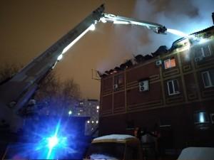 В Самаре потушили пожар на 1200 кв. метрах в ресторане Золотая пагода