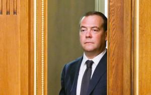 """Как отметил Медведев, в общей сложности он возглавлял российское правительство на протяжении восьми лет, а это """"огромный срок""""."""