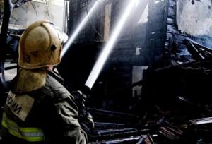 19 января в селе Сенькино Шигонского района горели надворные постройки на площади 100 м².