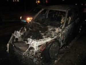 Задержаны подозреваемые в поджоге автомашины в Тольятти  Оперуполномоченные уголовного розыска разыскали их в соседнем регионе через две недели.