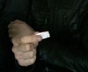 В Самаре студента задержали с наркотиком в куртке