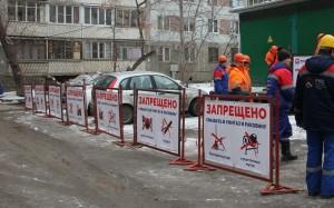 «РКС-Самара» организовали информационную акцию для жителей дома, в котором очень часто возникают засоры канализации.