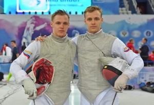 Кирилл и Антон Бородачевы выступали в составе сборной России на этапе Кубка мира среди юниоров по рапире во французском Экс-ан-Провансе.