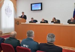 Дмитрий Азаров принял участие в расширенном заседании коллегии ГУ МВД России по Самарской области На ней были подведены итоги работы.