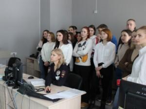 Очередной площадкой для проведения однодневной стажировки учащихся высших и средне-специальных учебных заведений стало Управление МВД Самары.