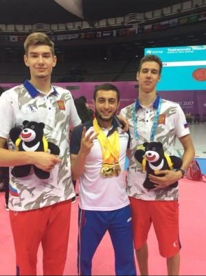 Он стал свидетелем финалов по Тхэквондо на Всемирной Универсиаде в Тайбее, где Россия впервые взяла три ЗОЛОТА благодаря спортсменам СО.