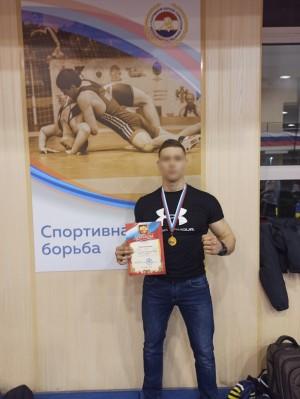 Сотрудник самарского СОБРа Росгвардии стал победителем областного чемпионата по панкратиону