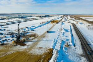 На автомобильной дороге Тольятти-Ягодное в Ставропольском районе начато строительство транспортных развязок на примыканиях к Особой экономической зоне.