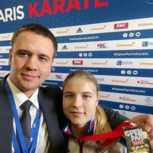В финале Анна Чернышева разгромила титулованную соперницу из Украины Анжелику Терлюгу - досрочная победа со счетом 8:0!