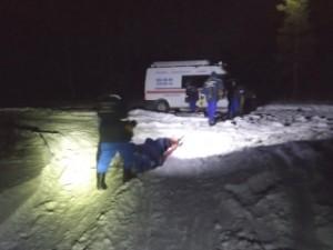 Мужчину с травмой ноги эвакуировали из леса в п. Волжский