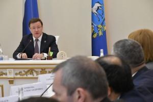 Дмитрий Азаров провел заседание Совета по улучшению инвестклимата В рамках заседания совета было рассмотрено 4 масштабных для губернии проекта.