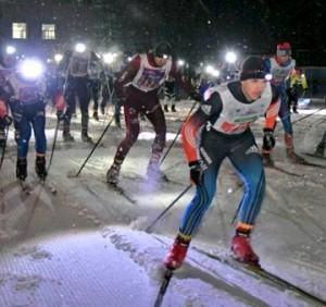 """Это первый из трех стартов в рамках марафона """"Сокольи горы""""."""