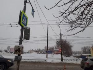 Во время снегопада в Самаре водитель сбил женщину