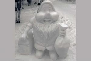 Погода радует жителей Тольятти снегом, который падал несколько дней