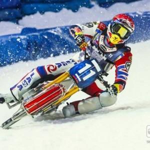 В Алматы состоялся второй этап личного чемпионата мира по мотогонкам на льду.