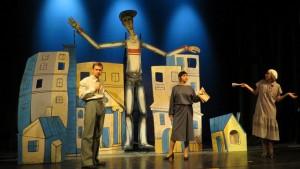 Спектакль создан по мотивам одноименного стихотворного произведения Сергея Михалкова.