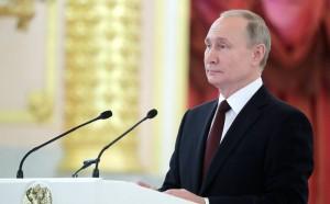 Путин заявил, что, к сожалению, в наши дни растет угроза терроризма, множатся региональные конфликты, разрушается система контроля над вооружениями.