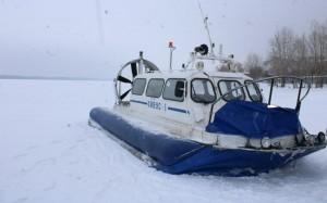 В Самаре загорелось судно на воздушной подушке с пассажирами