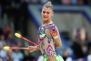 Солдатова - четырехкратная чемпионка мира и многократная чемпионка Европы по художественной гимнастике.