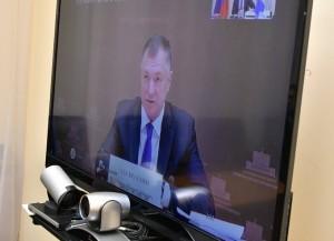 Дмитрий Азаров принял участие во всероссийском селекторном совещании Его провел зампред Правительства РФ Марат Хуснуллин.