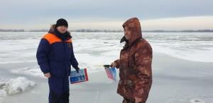 Самарцам напоминают об опасности выхода на лед водоемов