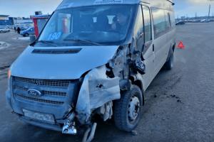 В Тольятти маршрутка протаранила автобус К счастью, обошлось без пострадавших.