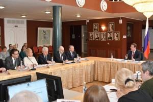 Губернатор Дмитрий Азаров провел расширенное заседание Совета по культуре и искусству