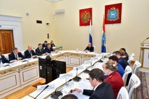 Первым вопросом министр лесного хозяйства СО Александр Ларионов доложил об исполнении 39 поручений предыдущего заседания общественного совета.