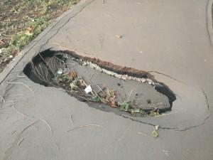 Улицу Дачную в Самаре могут отремонтировать ямочным способом