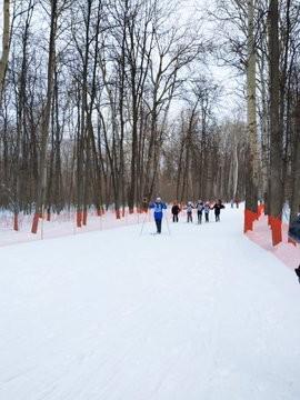 На лыжной базе Чайка в Самаре начался праздник Лыжня России 2020.