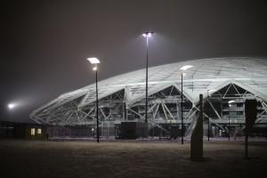 К стадиону Самара Арена запустили 2 новых трамвая