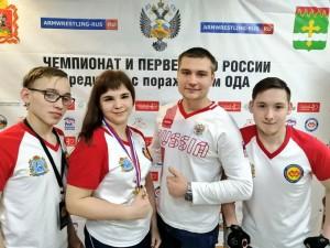 Гуляева Ксения среди юниоров свыше 50 кг - 1 место.