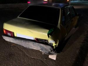 В Сызрани пьяный водитель врезался в дерево