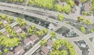 На втором этапе планируется построить дорогу протяженностью 7,8 км, которая будет состоять из4-6 полос движения.
