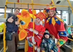 Передвижная бригада «Культурный Авангард» традиционно выйдет на 9 маршрутов общественного транспорта в Тольятти