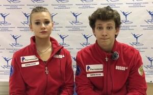 Танцевальная пара из Тольятти выиграла финал кубка России по фигурному катанию