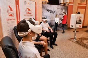 Ключевое событие проекта – посещение зала виртуальной реальности, с прохождением VR-квест-игры, которая позволит стать участником событий ВОВ.