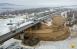 Начались работы по устройству фундамента будущего моста через Сок в Самаре Длина моста составит 306 метров.
