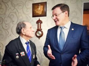 С юбилеем нашего заслуженного земляка поздравил губернатор Дмитрий Азаров.