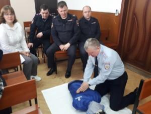 В Самарской области полицейские приняли участие в мастер-классе по оказанию доврачебной помощи гражданам