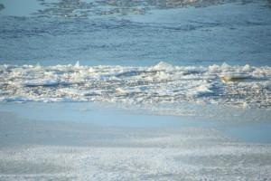 В Сызрани двое рыбаков провалились на тонком льду