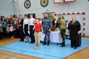 В Самаре сотрудники Росгвардии приняли участие в торжественных церемониях приведения школьников к клятве юнармейцев