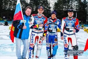 В суперфинальном заезде россияне объехали гонщиков Швеции.