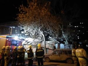 Обрушение стены жилого дома в Ленинском районе Самары: ситуация на контроле