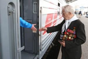 Российские и региональные перевозчики предлагают бесплатный проезд ветеранам Великой Отечественной войны