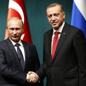 Владимир Путин проведет в Кремле переговоры с Эрдоганом