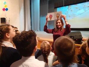Там прошёл литературный праздник для детей в рамках областного проекта «Книжный караван: передвижные выставки лучших книг для детей и подростков».