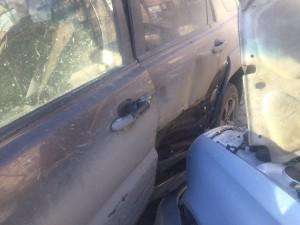 В Самаре иномарка врезалась в вазовскую легковушку, есть пострадавший