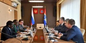 Председатель Правительства Самарской области встретился с чрезвычайным и полномочным послом Объединённой Республики Танзания