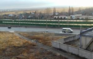 В Сызрани пассажирский микроавтобус попал в аварию